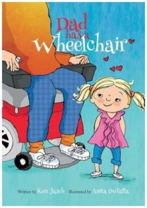 Dad has a Wheelchair book cover