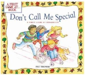 Don't Call Me Special book cover