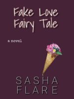 Red book cover with ice cream cone, Fake Love Fairy Tale.