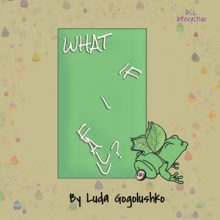 'what if I fall' on green cover with frog at bottom.