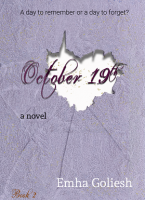 October 19th book cover by Emha Goliesh.